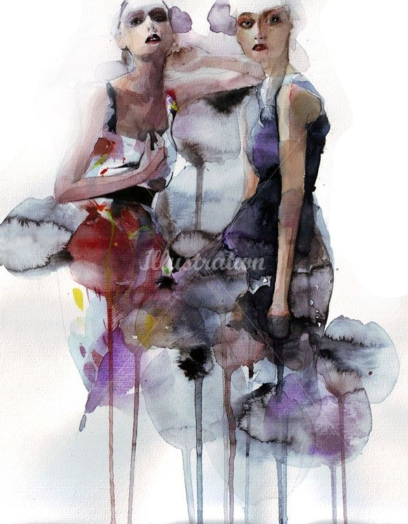 Petra Dufkova - fashion illustration
