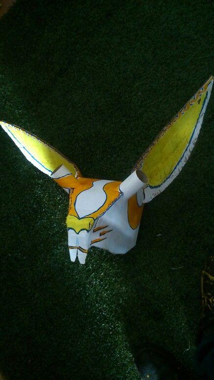 Rabit mask,  paper  Cartón