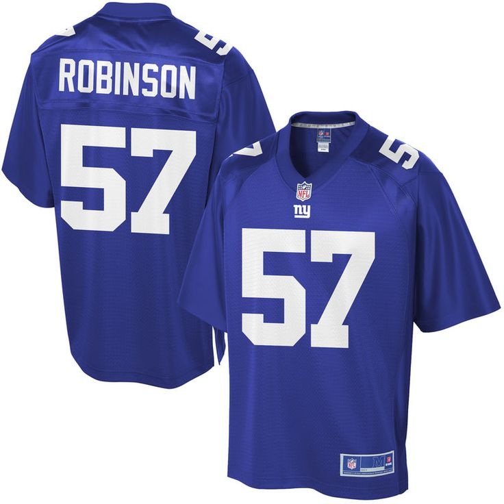 Keenan Robinson New York Giants NFL Pro Line Youth Player Jersey - Royal