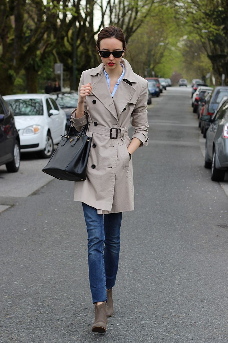 Trench Coat / Spring Outfit | emiliechevrier.com