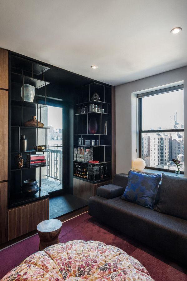 Tiny NYC Apartment Becomes A Light Filled Loft. Apartment  RenovationApartment Interior DesignYork ...