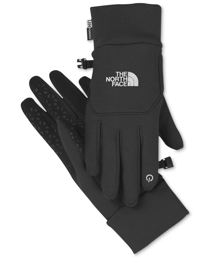 The North Face E-tip gloves — fashion is always great, but we like a little function, too. These gloves will keep those digits warm and allow you to stay connected to all your touch-screen devices