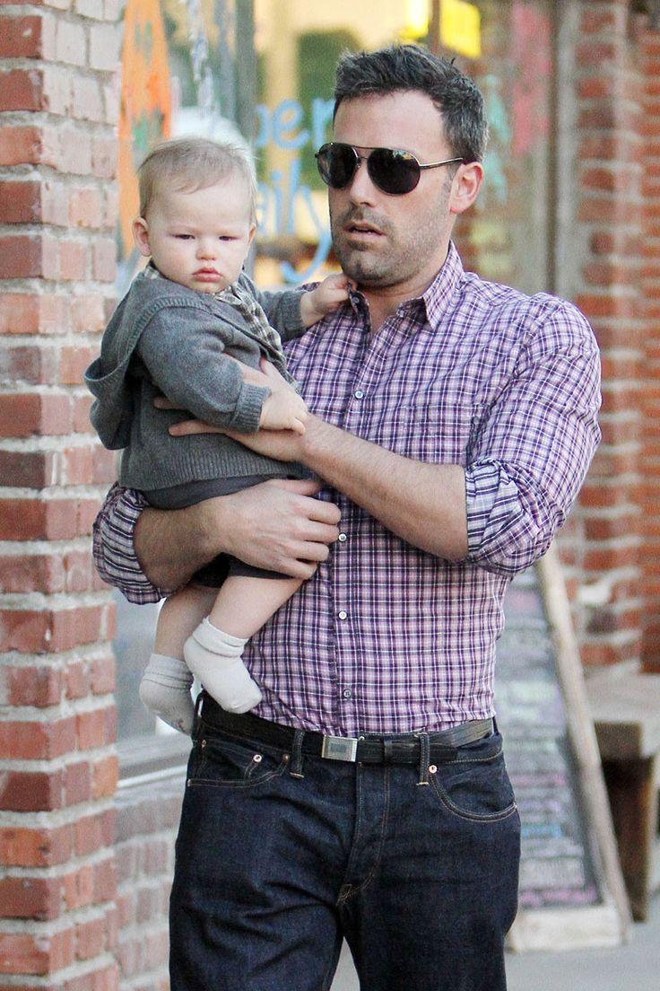 Hot Celebrity Dads ... Ben Affleck