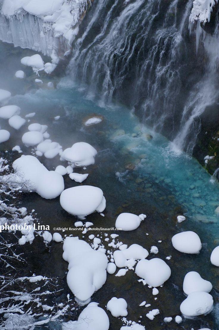 Shirohige Falls - Biei, Hokkaido, Japan