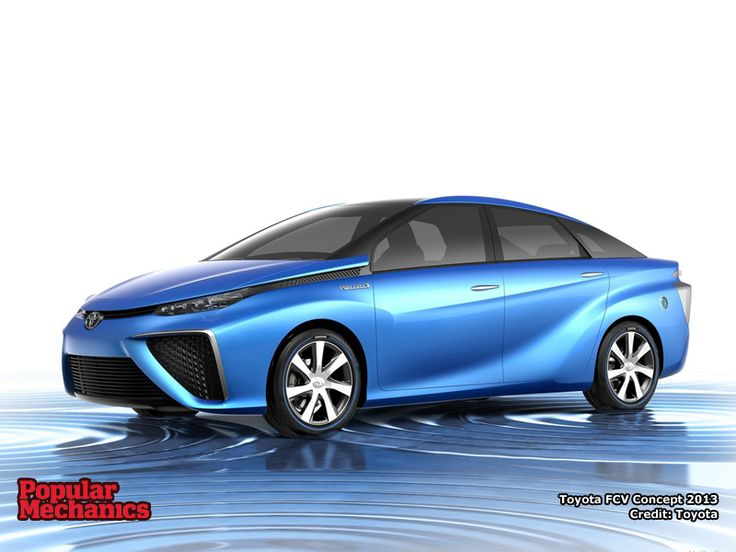 Toyota Fuel Cell Vehicle Concept 2013. Download wallpaper at http://www.popularmechanics.co.za/multimedia/wallpaper/toyota-fuel-cell-vehicle-concept-2013/