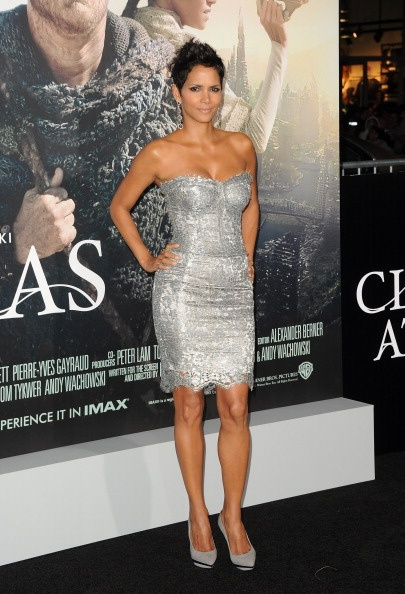 Halle Berry, de Dolce & Gabbana. FOTO: GETTY