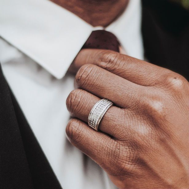 Best Style Mens Wedding Bands Thick Diamond Wedding Band Mens Diamond Wedding Bands Cheap Wedding Rings