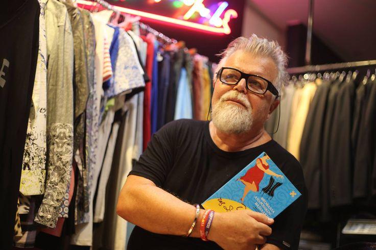 """Ο σχεδιαστής Νίκος Αποστολόπουλος, διάβασε το βιβλίο """"Ο Κορσές της Σταχτοπούτας"""" της Θεοφανίας Ανδρονίκου-Βασιλάκη και σίγουρα θα εύχεται να τον είχε σχεδιάσει κιόλας!"""
