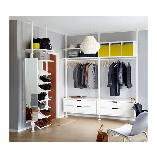 Stolmen 1 section ikea height adjustable from 82 5 8 129 7 8 which allows you to utilize the - Foto cabine armadio ...