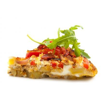 Omelette tomate poivron Linéadiet (minceurmoinscher.com) En-cas  hyperprotéiné  Retrouvez toutes les saveurs ensoleillées du Sud avec cette omelette méditerranéenne hyperprotéinée. Facile et très rapide à préparer, elle est hypocalorique et s'intègre parfaitement à votre régime de perte de poids. Dégustez de délicieux petits légumes dans une omelette bien chaude à la texture légère et aérienne : une préparation idéale pour vos déjeuners et un maintien impeccable de la ligne !