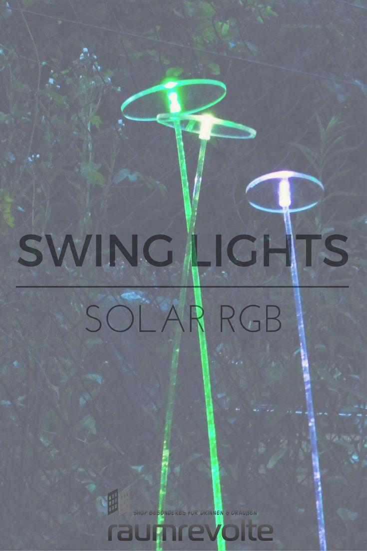 Ideal Acryl Schwingst be die nachts bunt leuchten Lumix