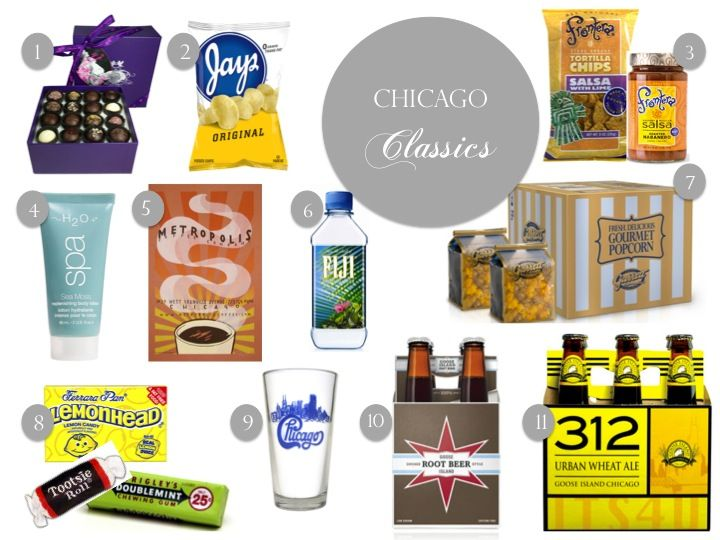 Chicago Themed Hotel Guest Welcome Bag Ideas