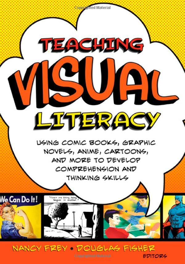 Teaching Visual Literacy.  There is so much more to visual literacy than meets the eye..oh, wait.  No, that's it!
