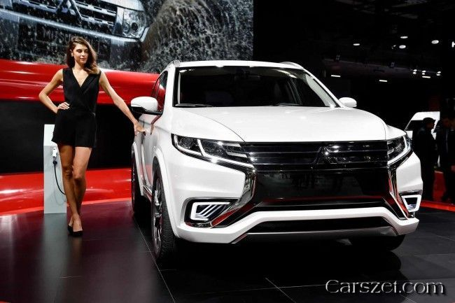 2018-2019 Mitsubishi Outlander PHEV Concept-S presented in Paris