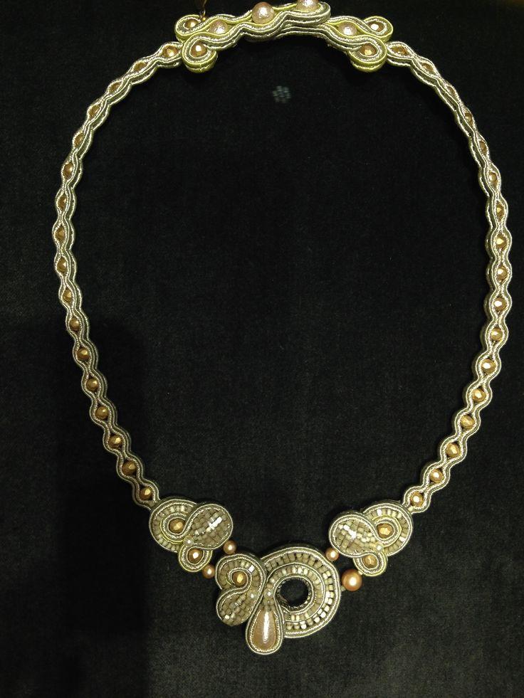 a necklace desgined by Dori Csengeri
