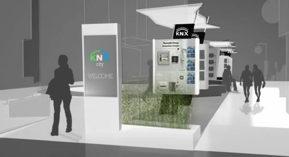 KNX City Presents 12 New KNX Applications at Light+Building 2014