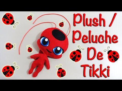 MIRACULOUS LADYBUG TIKKI PLUSH   PELUCHE DE TIKKI   COMO HACER   KWAMI   DIY - YuureYCrafts - YouTube