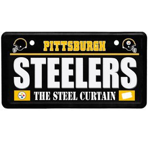 NFL - Pittsburgh Steelers License Plate Sign