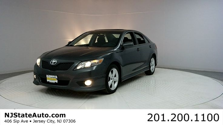 2011 Toyota Camry SE -  OPEN from 9 AM - 7 PM in Jersey City, NJ - http://www.NJStateAuto.com  - CASH or FINANCING and DRIVE HOME 🚗 with paperwork and license plates.