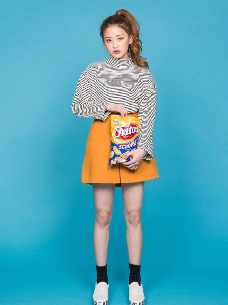 ショップスタッフ chuu│icecream12のTシャツ・カットソーコーディネート-WEAR