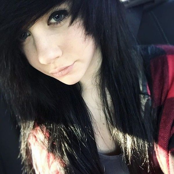 Best Emo Images On Pinterest Beautiful Books And Children - Emo girl hairstyle video
