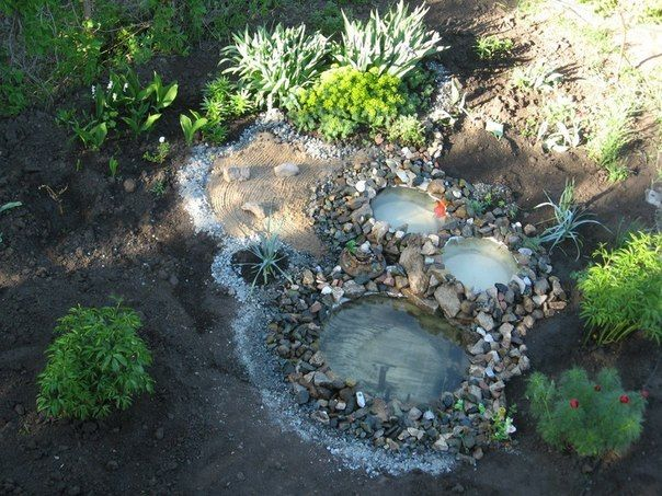 DIY Garden Ponds from Old Tires | iCreativeIdeas.com Like Us on Facebook ==> https://www.facebook.com/icreativeideas