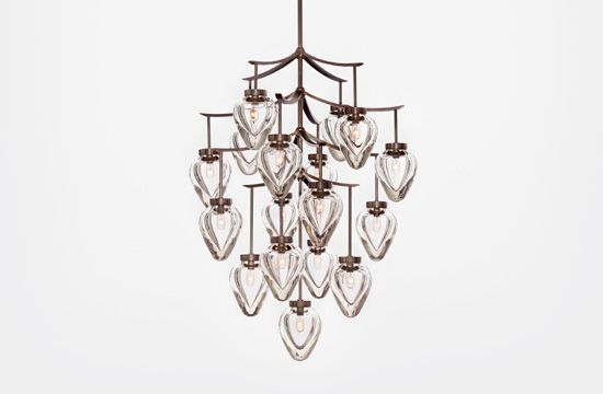 Chamber Chandelier by Alison Berger    Saw this in AD, it's cool!: Allison Berger, Hunt'S Lights, Berger Chamber, Hunt'S Chamber, Bulbs Chand, Chamber Chandeliers, Holly Hunt'S, Hunt'S Chand, Alison Berger