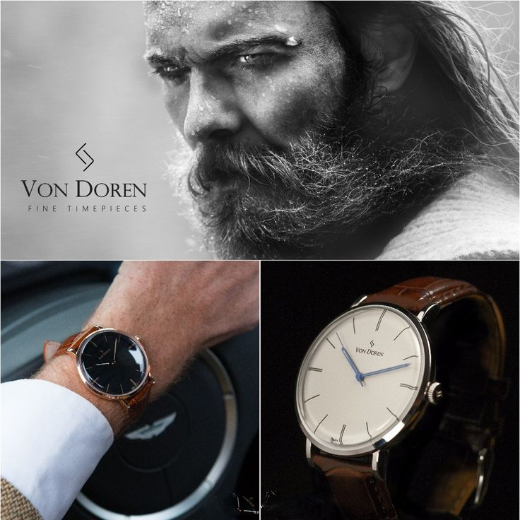 Inspired by the Viking Art Nouveau city of Aalesund on the west coast of Norway, the Von Doren watch collection is elegant, timeless and of the highest quality!