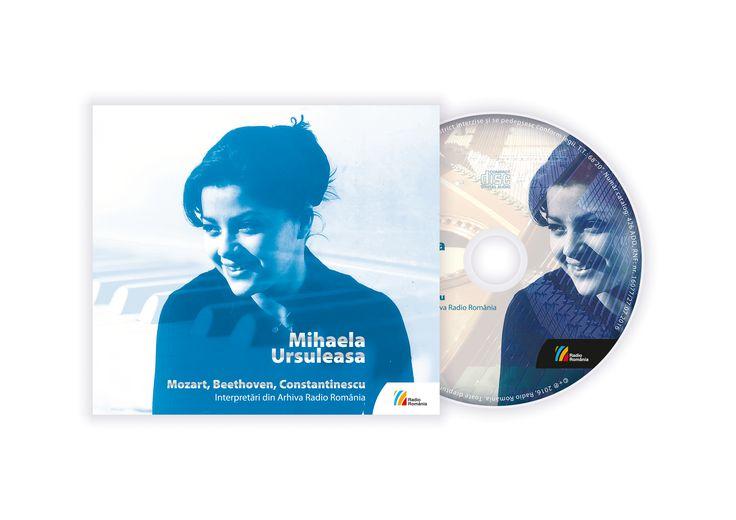Mihaela Ursuleasa – Mozart, Beethoven, Constantinescu / Editura Casa Radio (2016)