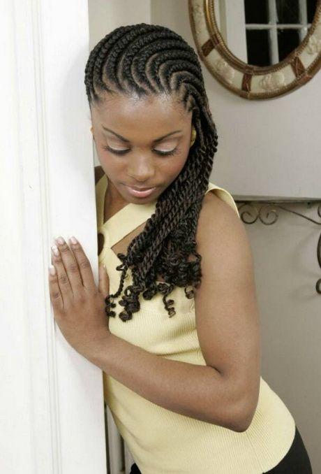 Cornrow hairstyles for black women