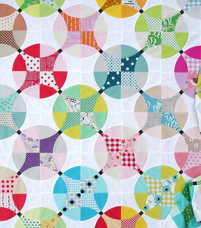 Flowering Snowball Quilt - Work in Progress | Red Pepper Quilts | Bloglovin'
