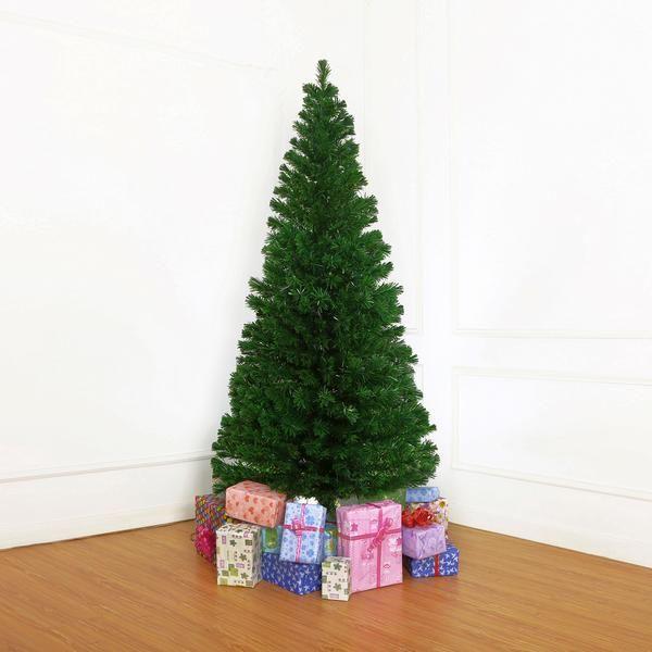 2.1m/7ft Green Christmas Tree Fibre Optic LED Light | Buy Christmas Trees