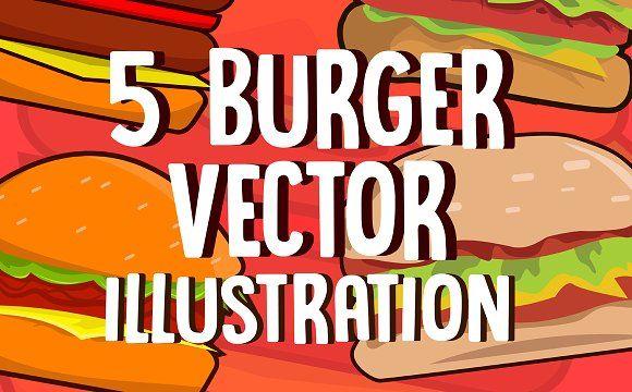 Burger Tasty by ongkeek on @creativemarket