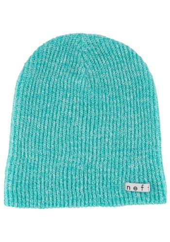 Neff Daily Teal White Heather Knit Hat Teal e58e9f4232d0