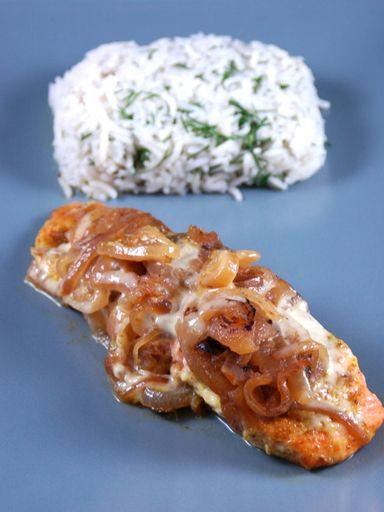 Papillotes de saumon au miel, curry et gingembre
