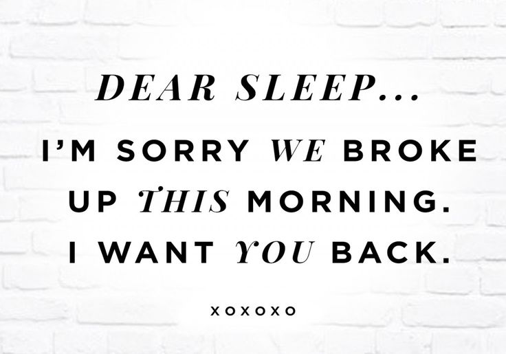 dear sleep//