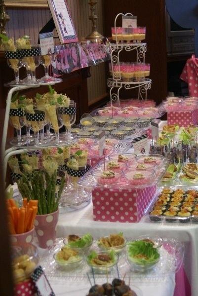 Buffet set up.... #wedding