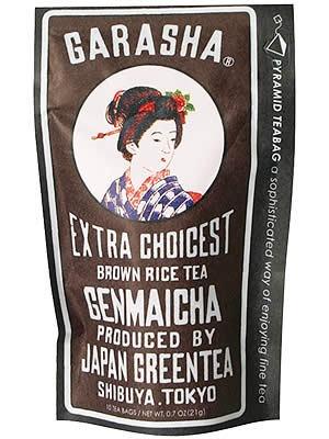 GARASHA Genmaicha (Japanese  Roasted Brown Rice Tea)|ガラシャ玄米茶