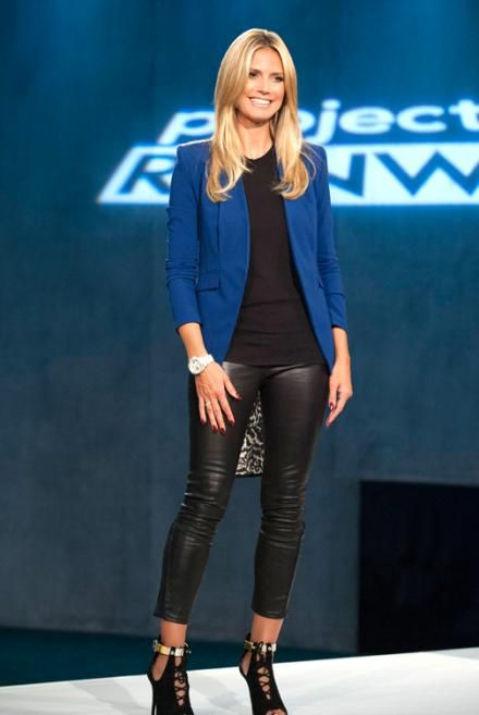 Leather pants   Celebrity Style  Leather look jeans