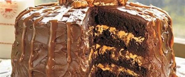 Copie a Chocolate Turtle Cake - Supreme Recipes