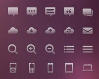 Free download: 120 vector glyph icons | Webdesigner Depot