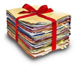 Utilizzate dei classificatori ad anelli o a cartellette mobili nei quali ordinare i documenti. Per quelli più delicati usare le cartellette di plastica...