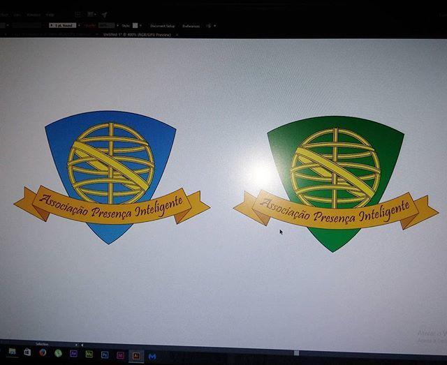 """Logo para """"Associação Presença Inteligente"""" (Proteção de idosos / Protection of the elderly)  #graphicdesign #designgrafico  #design #logo #logotipo #logotype #protection #proteçao #idosos #elderly #adobeillustrator #illustrator #logodesign #illustration #freelancing"""