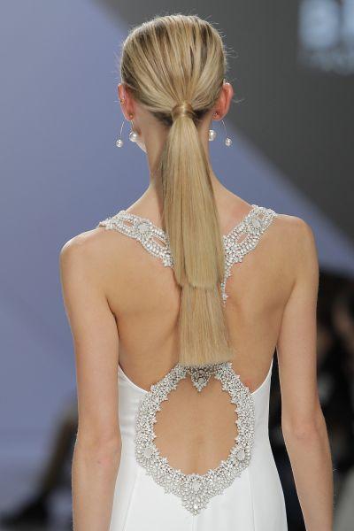 50 vestidos de novia con escote a la espalda 2017: ¡los querrás todos! Image: 44