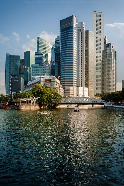 Singapore CBD | Singapore and Beautiful places