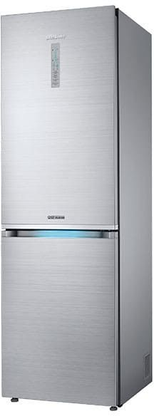 Samsung RB12J8896S4 24 Inch Counter Depth Bottom Freezer Refrigerator with 12 cu. ft. Capacity, 3 Tempered Glass Shelves, Fridge in Freezer, Twin Cooling Plus Technology, Chef Mode, LED Lighting and Frost Free Operation