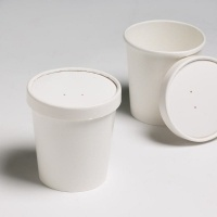 White 16 Oz Combi Soup Containers (Packed per 250)
