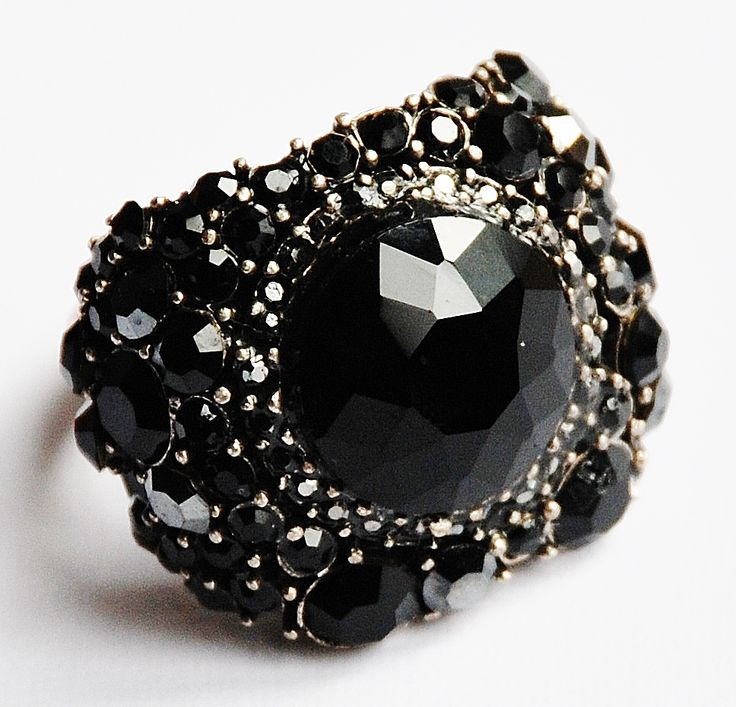 Beautiful handmade ring with Swarovski crystals from www.Born2shop.co.nz