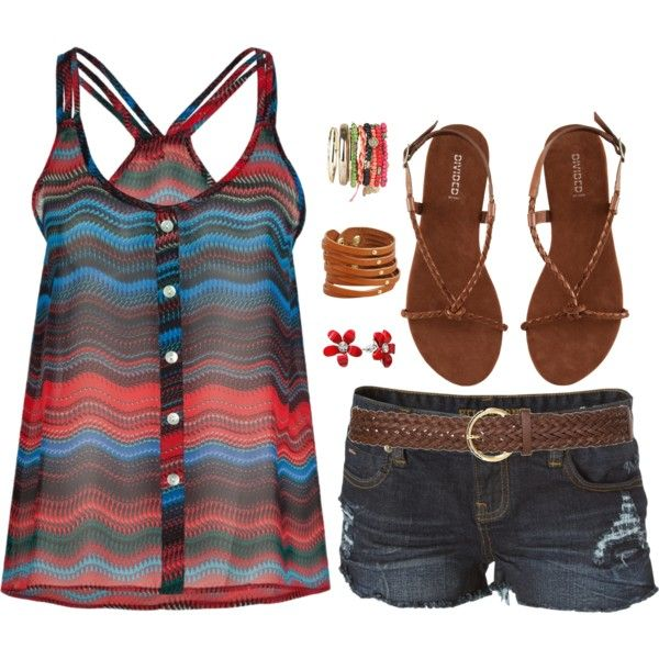 So cute!: Cute Tops, Dreams Closet, Summer Looks, Color, Summer Style, Cute Outfits, Spring Summ, Tanks Tops, Summer Outfits