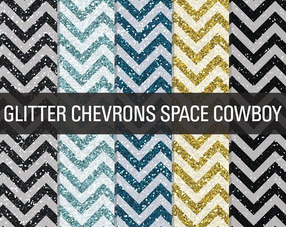 Glitter Chevron Textures Space by SonyaDeHart on @creativemarket